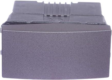 Módulo Interruptor Simples 16A 250V 1 Módulo Grafite Única, Schneider Electric SEU3.161.12