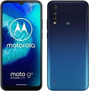 Motorola Moto G8 Power lite XT2055 Dual-SIM 64GB Factory Unlocked 4G/LTE Smartphone (Royal Blue) - International Version