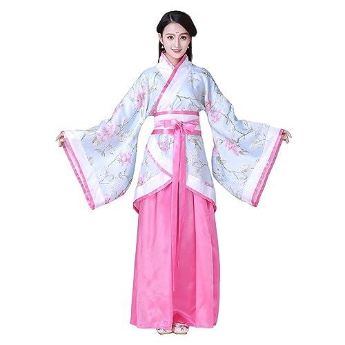 27b6c5e36 Ez-sofei Women's Ancient Chinese Traditional Hanfu Dress Han Dynasty  Cosplay Costume