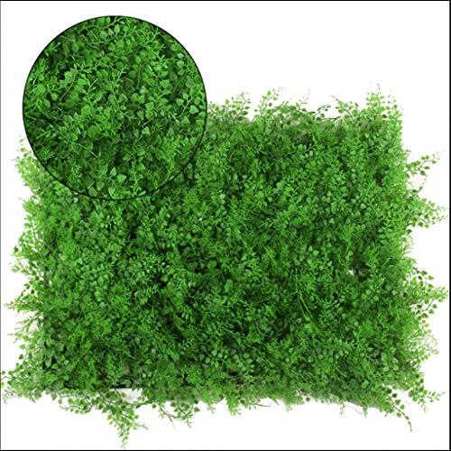 YNFNGXU Feuille Artificielle De Haie Privacy Screen Green Leaf Extérieur Intérieur Garden Clôture Backyard Home Decor Green Wall 40x60cm (Color : 03)