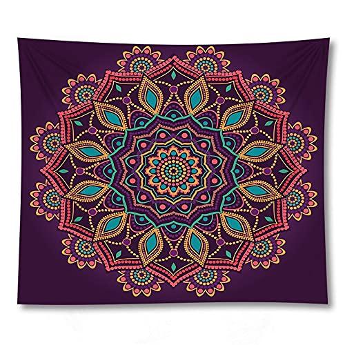 PPOU 3D Mandala Stampa stuoia di Yoga Wall Art arazzo decorazione Della parete di casa coperta sfondo stoffa arazzo A6 150x200cm