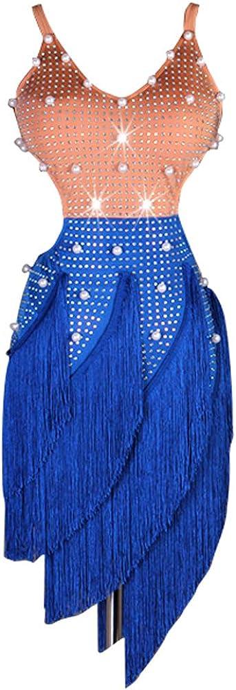 NAKOKOU Women Practice Training Excellent Dress Max 60% OFF Latin Fringe