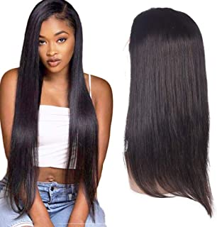 Barroko Hair Straight Lace Front Wig 150% Density 13X4 Lace Front Wig Natural Color Virgin Human Hair Lace Wigs (16)
