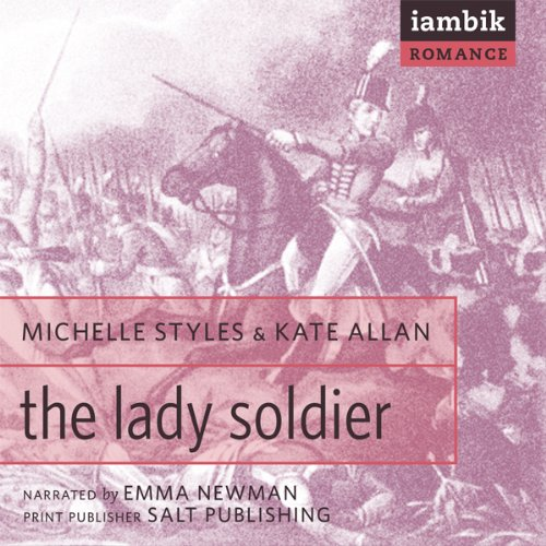 The Lady Soldier audiobook cover art