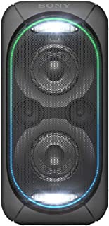 Sony Portable Extra Bass High Power Home Audio System with Battery, Black, GTKXB60B