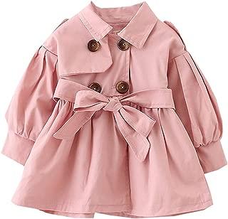 Fairy Baby Kids Baby Girl Spring Trench Windbreaker Coat Wind Proof Jacket Outwear