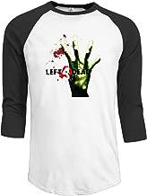 Loser112 Mens Left 4 Dead L4d Updated Jerseys Baseball Raglan T Shirts
