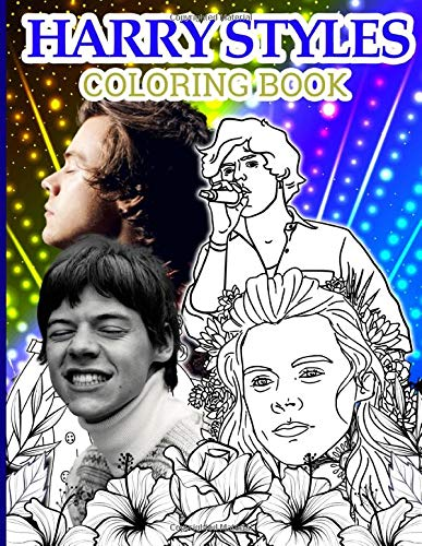 Harry Styles Coloring Book: Harry Styles Adult Coloring Books