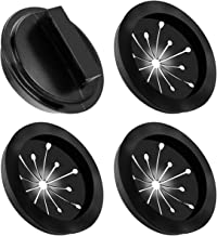 Garbage Disposal Splash Guards and Stopper Set 4 Pack(3+1), Topspeeder Food Waste Disposer Accessories Multi-function Drain Plugs Splash Guards for Whirlaway, Waste King, Sinkmaster and GE Models