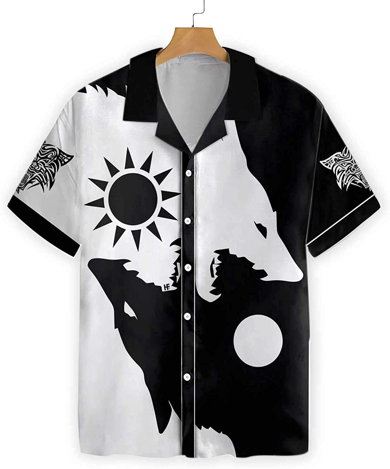 XStyles18 - Max 80% OFF Day and Austin Mall Night Wolves Hawaiian Shirt