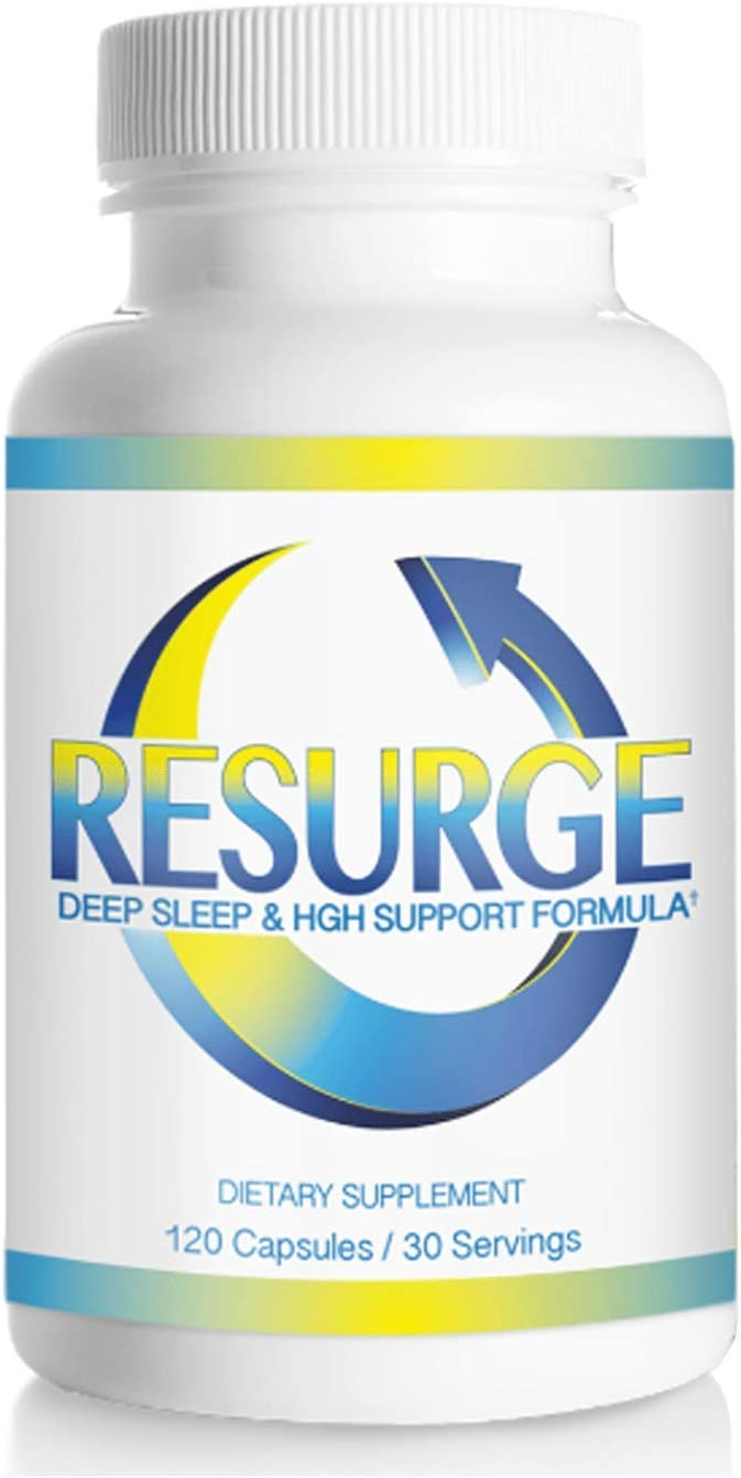 Resurge Deep Sleep Support Capsules 120 Formula Inventory cleanup selling sale New arrival
