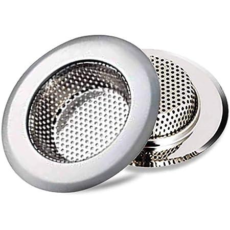 Fablcrew 1Pcs Filtre /à /évier//Bouchon de Bonde pour /évier en Acier Inoxydable pour Cuisines et Salles de Bains Diam/ètre 8CM