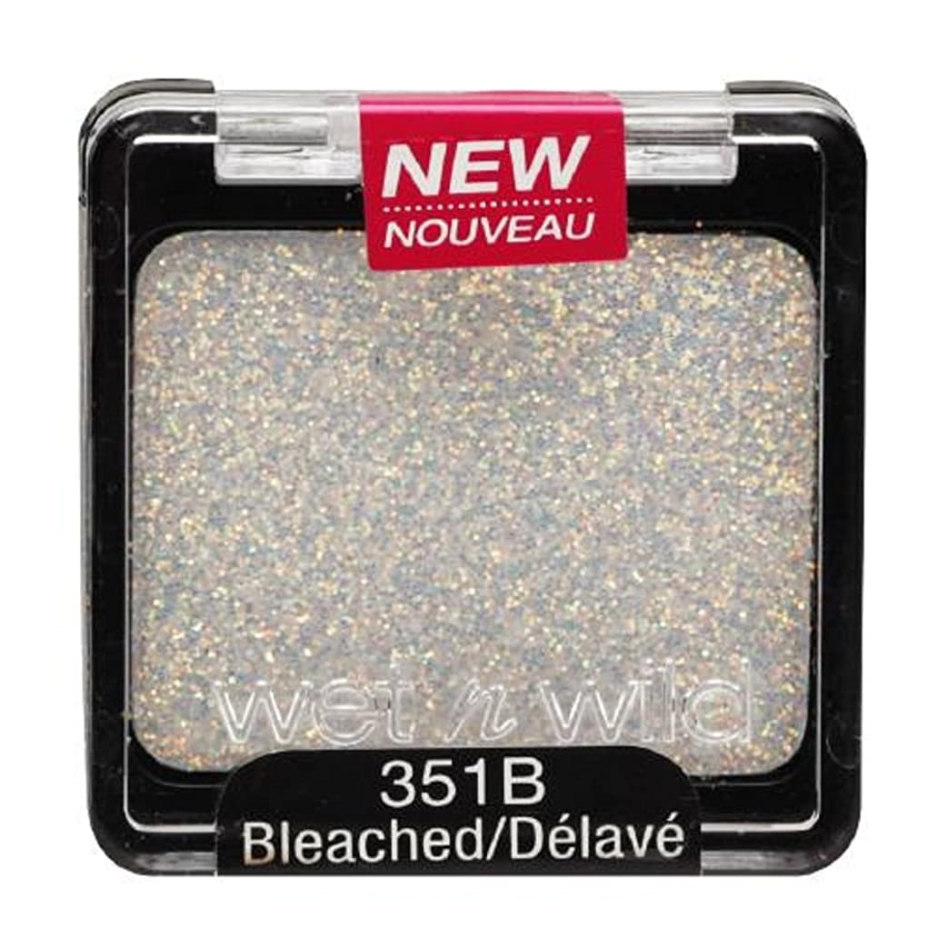 トチの実の木処理再現するWET N WILD Color Icon Glitter Single - Bleached