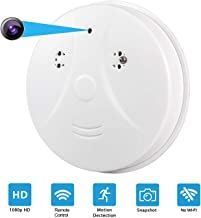 CHSMONB Hidden Camera, 1080P HD Nanny Cam Spy Camera Wireless Mini Video Recorder for Indoor Home Security Monitoring Motion Detection