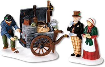 Department 56 Dickens' Village The Coffee Stall Building and Accessory Figurine (Set of 2)