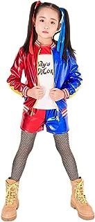 Girls Cosplay Costume T Shirt Jacket Clothing Set Halloween Costume for Kids