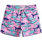 MaaMgic Boys Cute Shark Swim Trunks 2T Toddler Swim Shorts Little...