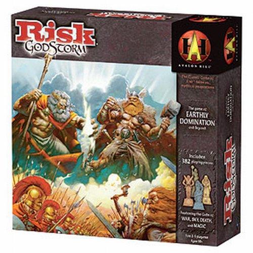 Risk Godstorm - Strategisch spel - Strategie spel met mythische culturen en goden - Voor de hele Familie - Taal: Nederlands