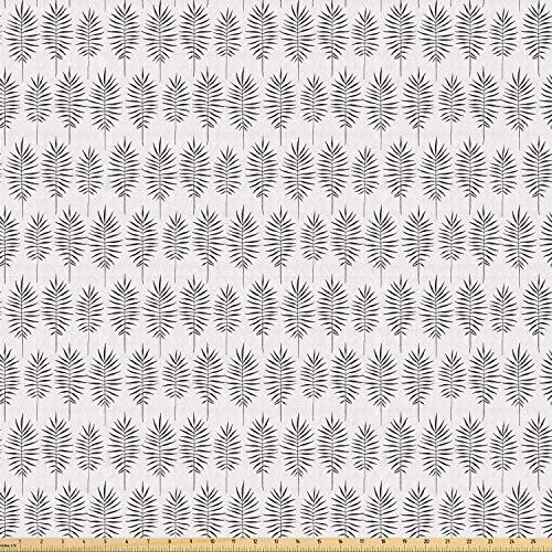 Juego de adhesivos decorativos para azulejos, diseño exótico hawaiano, color negro y tropical, diseño de hojas de palma, de palma, 12 unidades