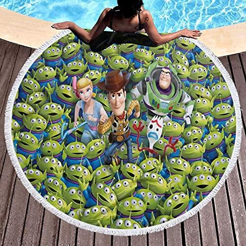 Cute Pillow Toalla de baño de Toy Story Toallas, 100% fibra superfina, muy absorbente y de secado rápido, extra grande, toalla de baño súper suave de calidad de hotel