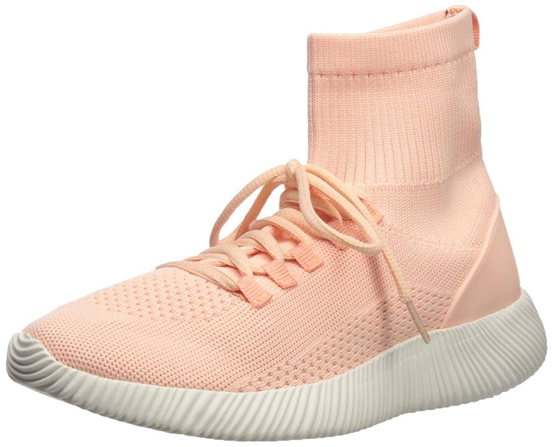 水を飲む言い直す肉[Qupid] Womens spyrock Fabric Hight Top Lace Up Fashion Sneakers [並行輸入品]