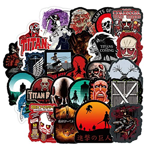 Attack Of The Giant Graffiti Stickers Luggage Scooter Refrigerator Laptop Stickers Waterproof 100pcs