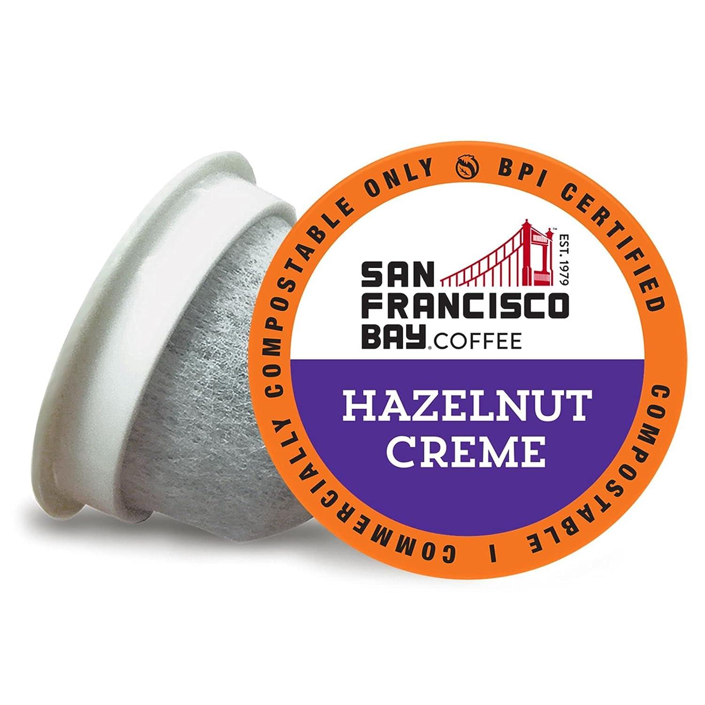 SF Bay Luxury Coffee Hazelnut Crème 120 Flavored Ct Compos Medium Wholesale Roast