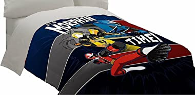 Power Rangers Band Together Comforter Twin Full