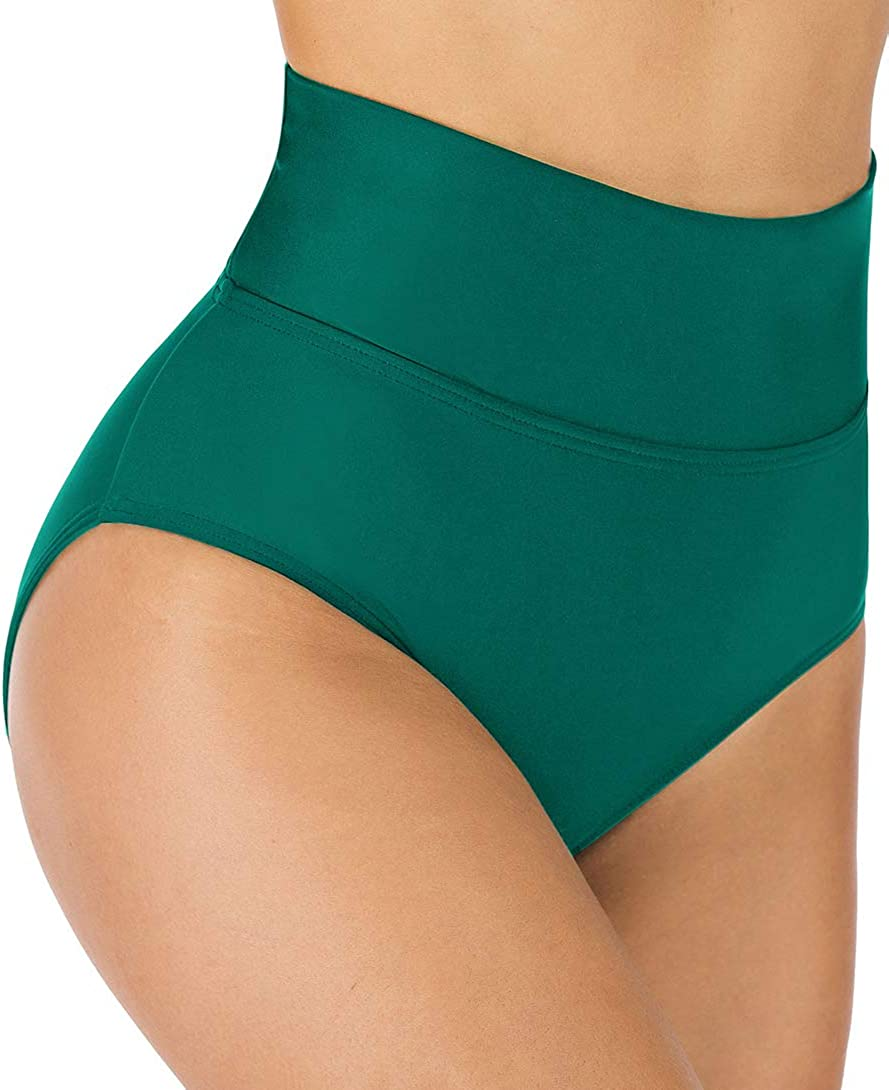 Import Oklahoma City Mall Micosuza Women's High Waisted Bikini Control Bottoms Shape Fold