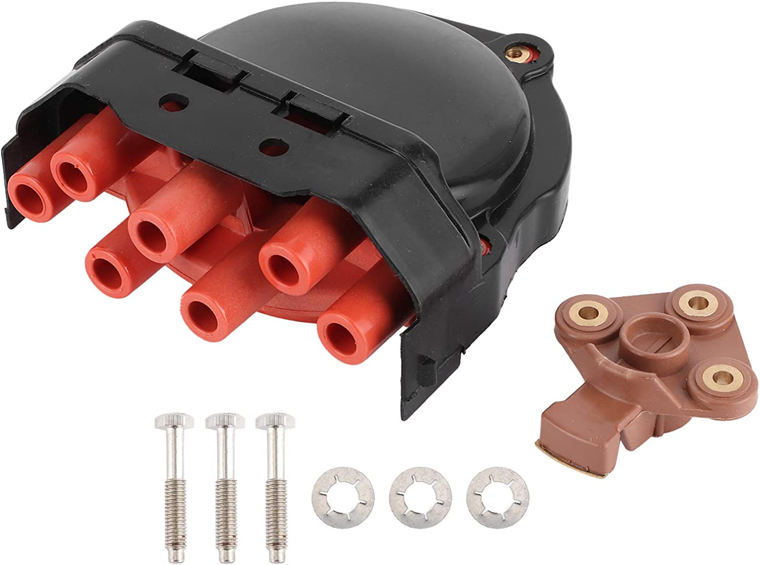 Yctze Distributor Cap Max 88% OFF + Special price for a limited time Rotor 1234332347 for Replacement Fit S 3