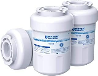 GE MWF Refrigerator Water Filter, NSF Certified, Replacement for GE SmartWater MWFP,..