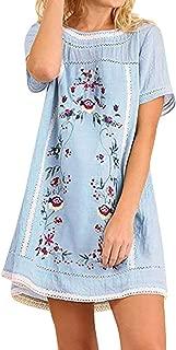 S-5XL KYLEON Summer Bohemian Cotton and Linen Wrist Sleeve Buttons Maxi Dress for Women A-lineStraight Beach Sundress Plus