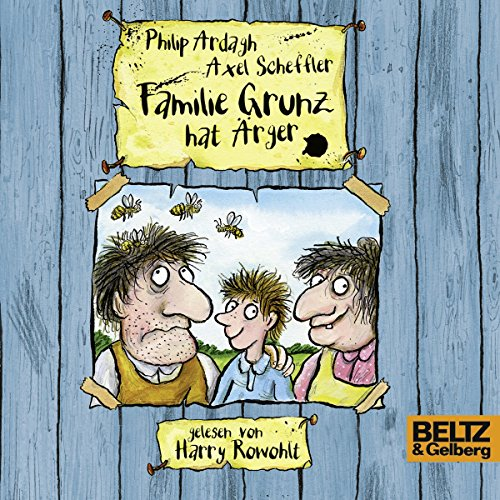 Familie Grunz hat Ärger audiobook cover art