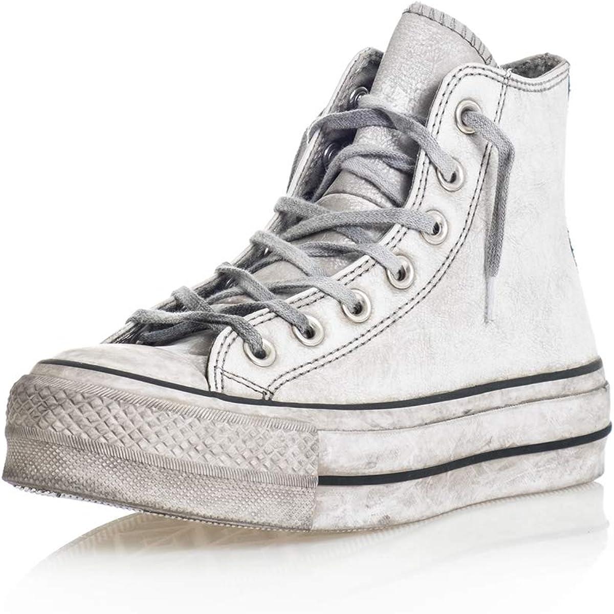 scarpe donna converse platform alte