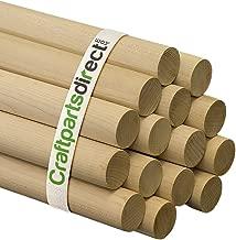 Wooden Dowel Rods - 1-1/4