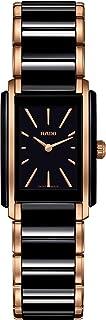 ساعت مچی کوارتز یکپارچه Rado با بند سرامیکی ، مشکی ، 21 (مدل: R20194162)