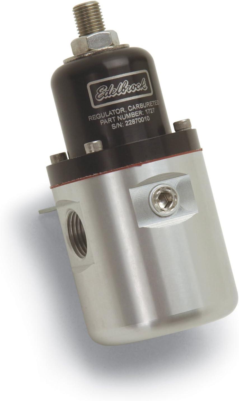 Edelbrock Ranking integrated 1st place Dedication 1727 Aluminum Fuel Pressure Multi Regulator Size One