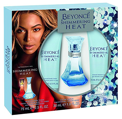 Beyonce schimmernde Hitze 30 ml Eau de Parfum + Body Lotion + Shower Gel