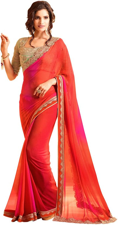 Aarah Women's Ethnic Handmade Festive Special Saree