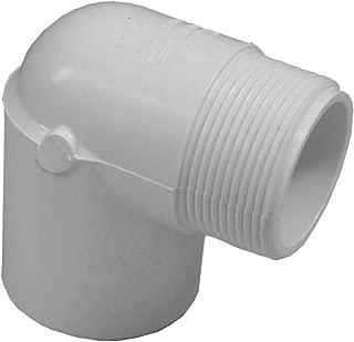 Genova Products 32715 PVC 90-Degree Street Elbow, 1-1/2