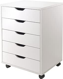 Winsome 10519 Halifax Storage/Organization 5 Drawer White (Renewed)