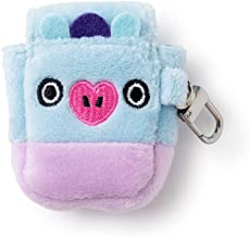 BT21 Official Merchandise by Line Friends - MANG Character Air Pod Case Cover, Purple and Blue