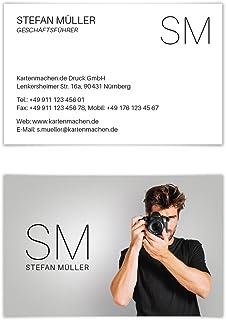 20 x Visitenkarten individuell Business Karten 300g//qm 85 x 55 mm Fotograf