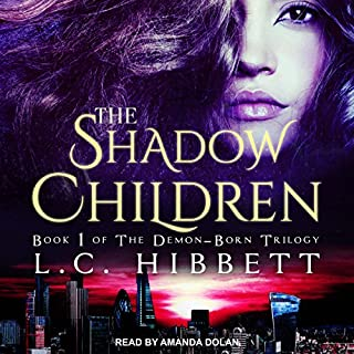The Shadow Children: A Dark Paranormal Fantasy cover art
