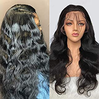 Lace Front Wig Body Wave 13X6 Human Hair Indian Remy Mink Wet And Wavy Bleach Knots Free Deep Part Sapce Swiss Pre Plucked With Baby Hair Glueless 10A Grade Affordable Amazon Prime Long 26 Inch