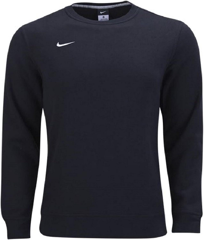 Nike Men's Club Industry Ranking TOP14 No. 1 Fleece Sweater Crew Small Black