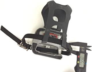 Left Pedal w/Strap Works with Expresso Interactive Fitness S3R HD Recumbent Bike S3 Series