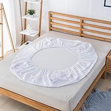 Topper lakan,Hem enkel ren färg vattentät lakan-D_99 * 190 * 35cm,Försiktigt lakan