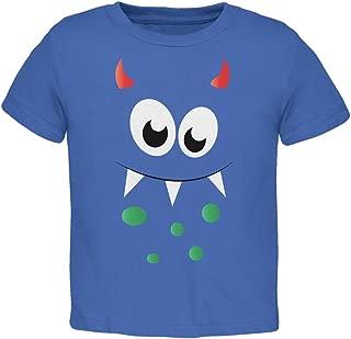 Monster Face Royal Toddler T-Shirt