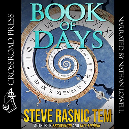 The Book of Days audiobook cover art
